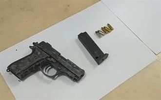 男子拒捕持槍上膛瞄準刑警 殺人未遂判7年10個月