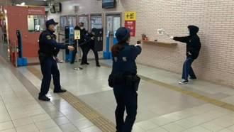 年關將近 台鐵新竹站加強防搶