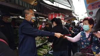 防疫期間治安交通不打烊 蘆竹分局前進南崁市場