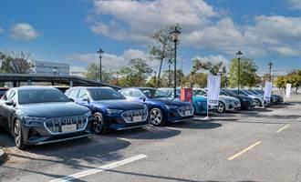 Audi全能電旅e-tron首批車主聚會 熱情集結府城台南
