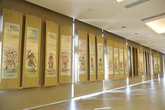 「峰華絕色」水墨展 彰化縣議會新會館展出
