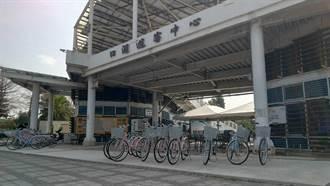 騎遊雲濱 雲林口湖遊客中心提供自行車服務