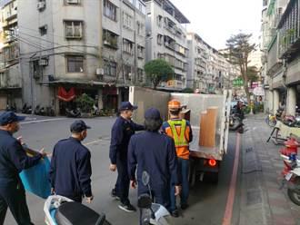 确保春节期间人、车安全顺畅 永和警执行「清道专案」