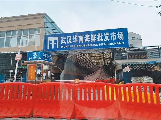 正在中國協助世界衛生組織調查新冠病毒源頭的科學家說,他們發現了武漢華南海鮮市場在這次疫情中所扮演角色的「重要線索」。(中新社資料照)