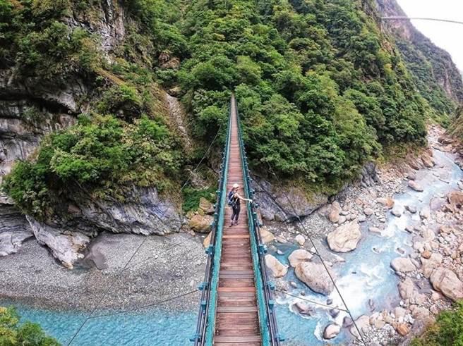 錐麓吊橋 IG@sup_kayak (圖/ReadyGo提供)