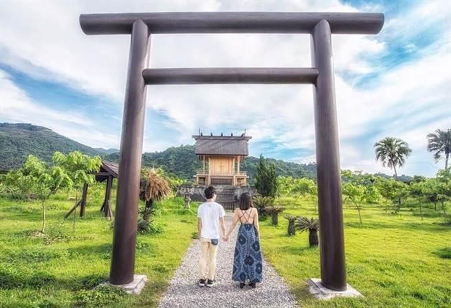 台東鹿野村神社 IG@ak_travel_tw (圖/ReadyGo提供)