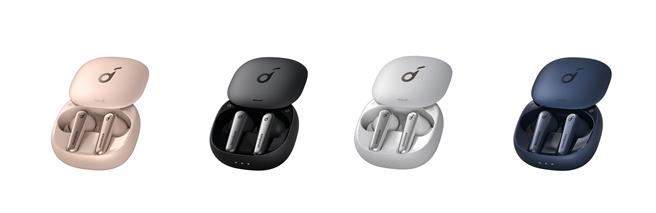 全新Liberty Air 2 Pro,共雲母黑、石英白、星燦藍、晨曦粉 4色,定價4280元。(Anker Innovations提供)