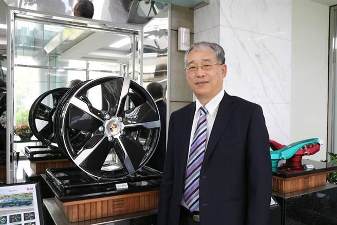 (巧新科技董事長黃聰榮。圖/劉朱松)