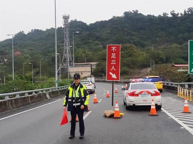 警政署已要求各警察機關加強交通秩序整理,並妥善規劃勤務作為。(翻攝照片/林郁平台北傳真)