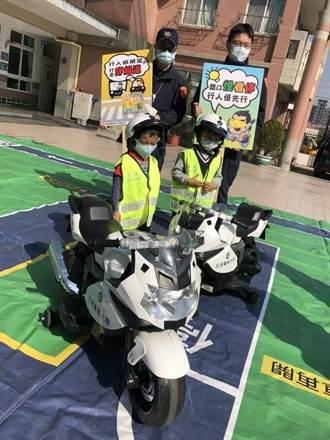 中市警幼兒園宣導交通安全 緝毒犬成小老師