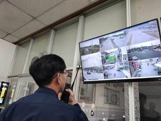 春节连假首日 白河分局58支镜头监控关子岭等景区车流