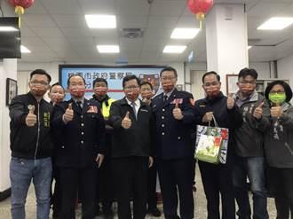 春節安全維護 桃園市長鄭文燦慰勉平鎮分局員警