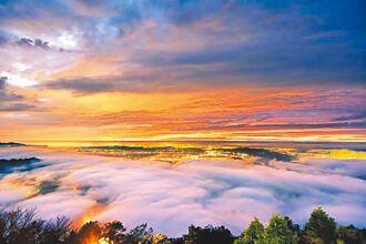 大雪山奇景 雲海美如畫