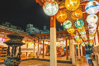 彰化燈結綵喜洋洋 古城飄異國風