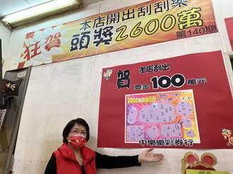 霧峰1注獨得5.3億大樂透頭獎 彩券商:刮刮樂、彩券都幾萬幾千元的買
