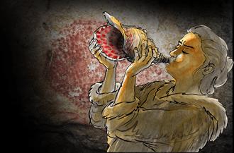 何不聽聽神奇海螺 1.8萬年前的最古老樂器