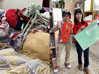 房间太乱吓坏人 高嘉瑜回基隆当1日店长 网:有卖泛黄枕头吗?