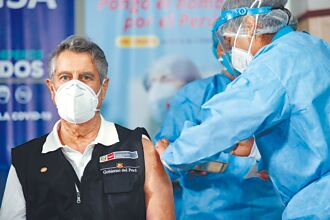 接種中國疫苗 祕魯總統有信心