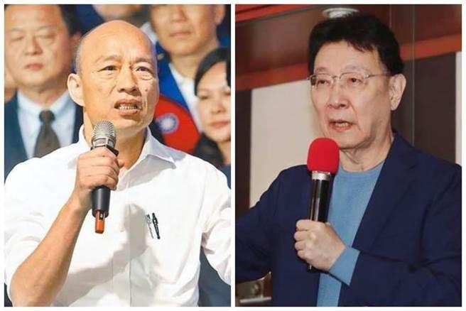 中廣董事長趙少康、前高雄市長韓國瑜。(本報系資料照)