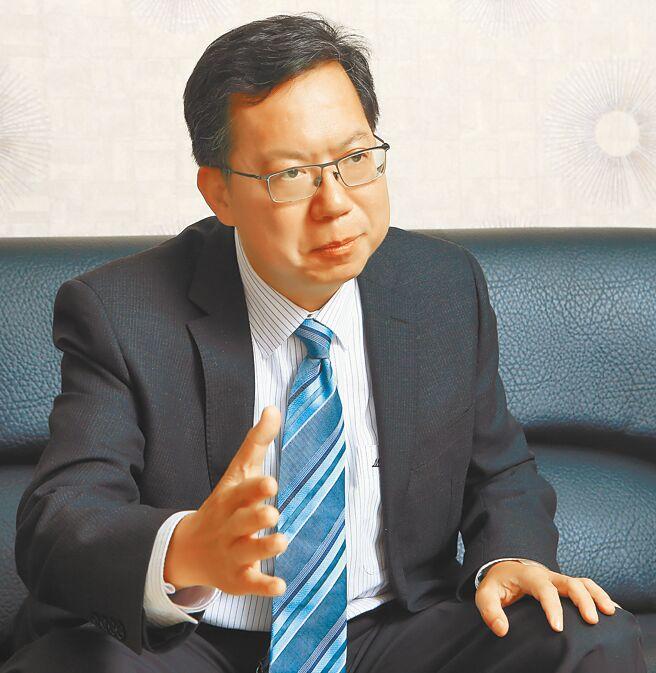 桃園市長鄭文燦(本報資料照片)