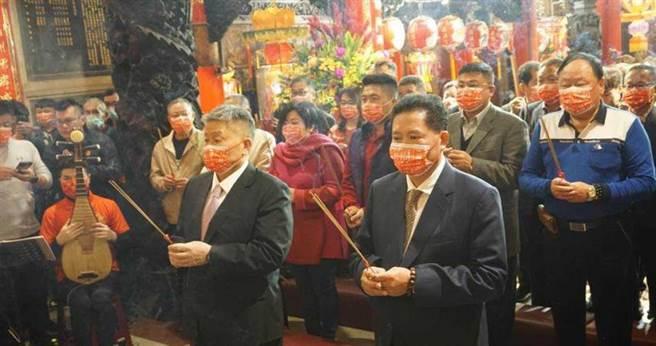 針對大甲媽今年是否遶境,鎮瀾宮董事長顏清標表示,農曆元宵擲笅才能決定。(圖/報系資料照)