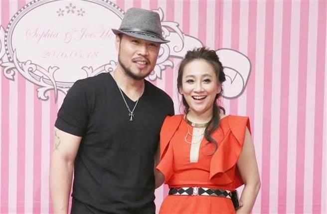 林秀琴是前職棒球星陳致遠的妻子,兩人以前經常上綜藝節目聊婚姻生活。(圖/ 取自中時資料庫)