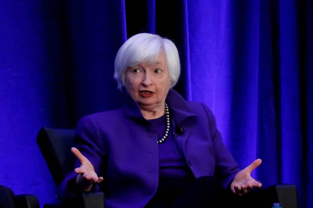 美国财政部长叶伦(Janet Yellen)12日敦促七大工业国集团(G7)财经领袖在额外财政刺激上「要做就做大的」。(资料照/路透社)(photo:ChinaTimes)