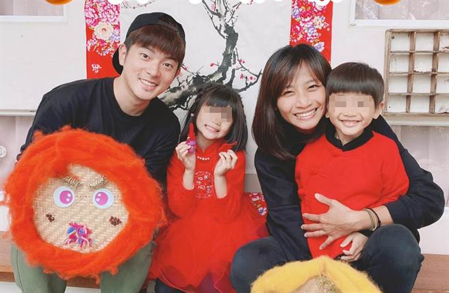 宥勝和蕾媽育有一子一女。(圖/翻攝自宥勝之旅臉書)