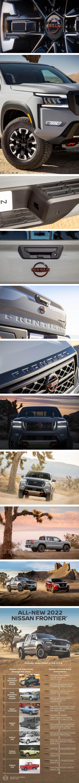 睽違 16 年的全面改款、滿足現代年輕世代需求,Nissan Frontier 北美正式發表