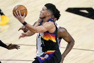 NBA》戴文布克36分 太陽逆斬七六人奪5連勝