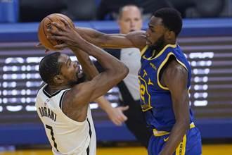 NBA》結束隔離歸隊 杜蘭特領軍籃網狂扁老東家勇士