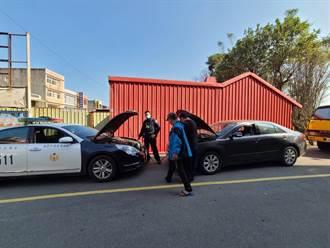 車輛拋錨堵住停車場 警協助接電解危