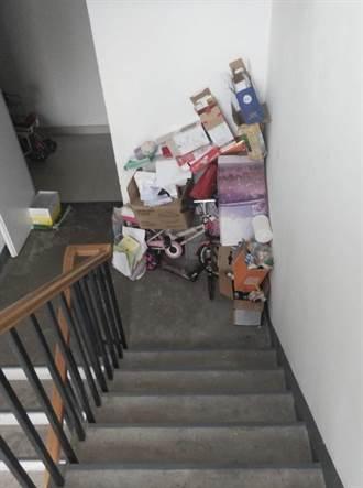 住戶走廊堆雜物 最高可罰20萬