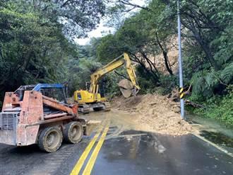 陽金公路坍方 拚明日雙向通車