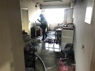 桃园八德住家火警 70岁老妇当场无意识心跳