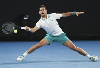 澳網》喬柯維奇帶傷出征 四盤苦戰晉級八強