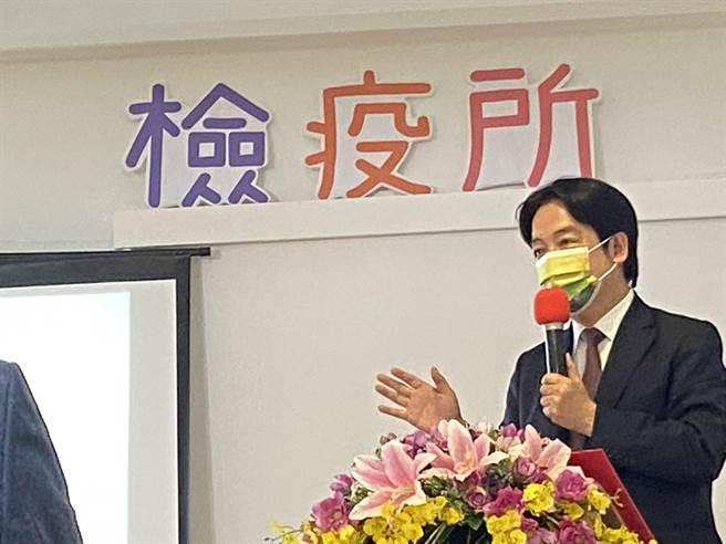 副總統賴清德向衛福長陳時中表示,<b><a href=