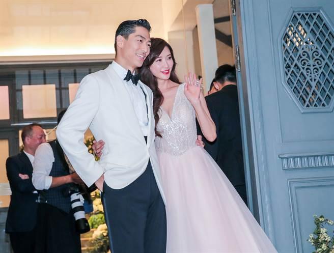 林志玲與Akira結婚近2年,感情恩愛。(本報系資料照)