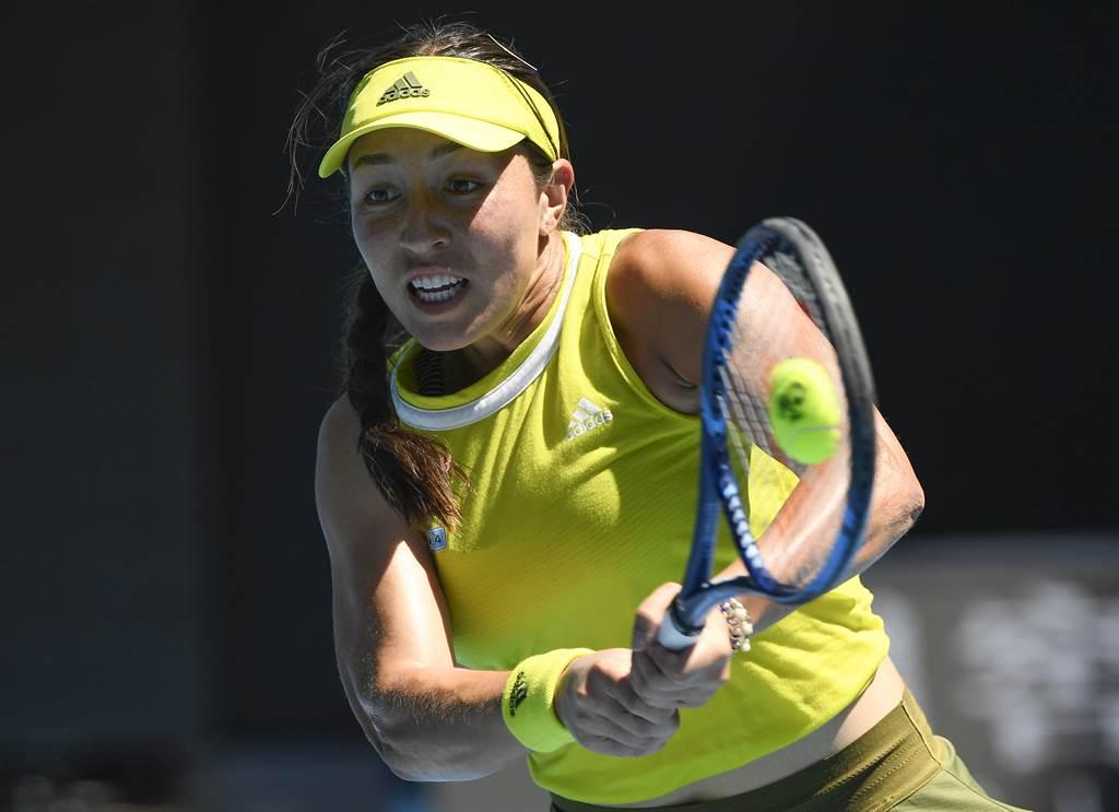 美國女將佩古拉於今年澳網再挫種子選手,生涯首度晉級四大賽女單8強。(美聯社)