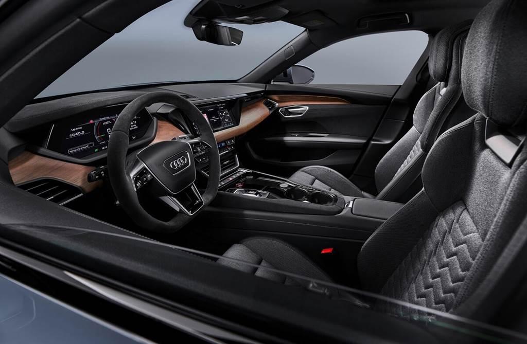 極富表現力純電旅跑新風範(上):Audi e-tron GT空氣力學與內外設計