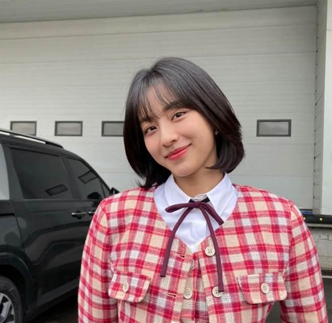 女星姜旻兒。(圖/ 摘自姜旻兒IG)