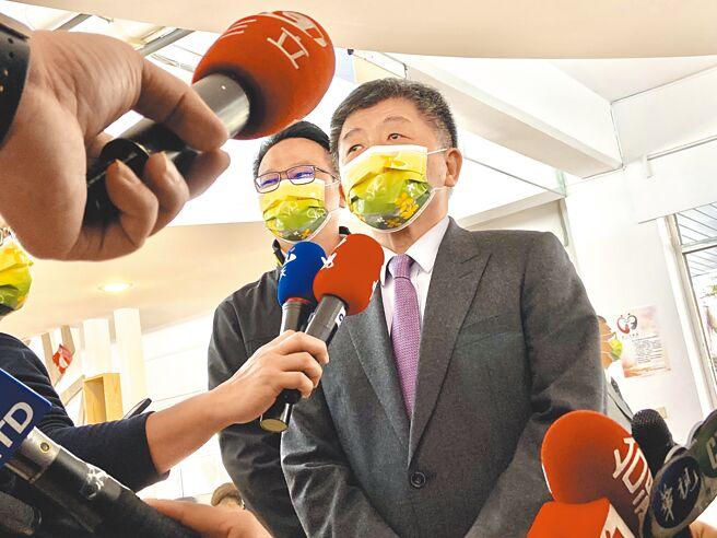 對前總統馬英九籲接受大陸疫苗,中央流行疫情指揮中心指揮官陳時中14日表示,大陸疫苗不是我們的候選疫苗。(盧金足攝)
