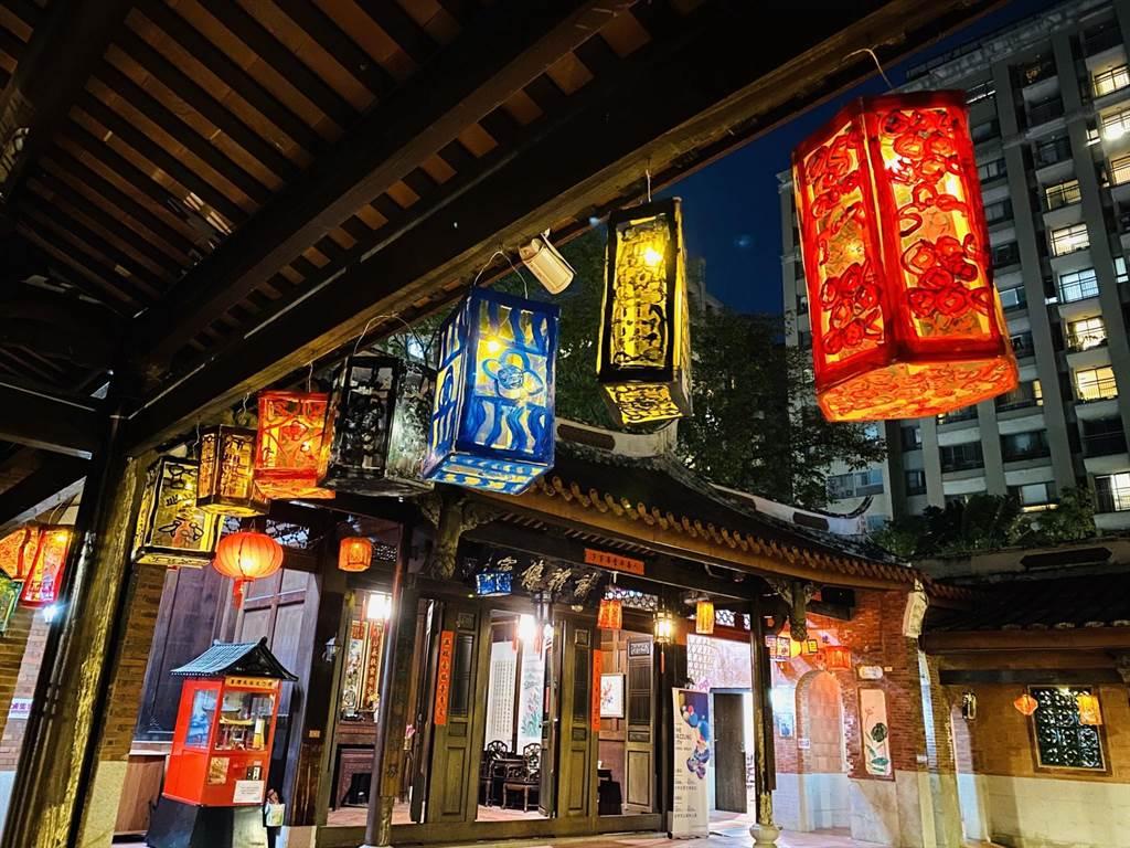 台中民俗文物館辦彩繪燈籠 創作可參展點亮館舍