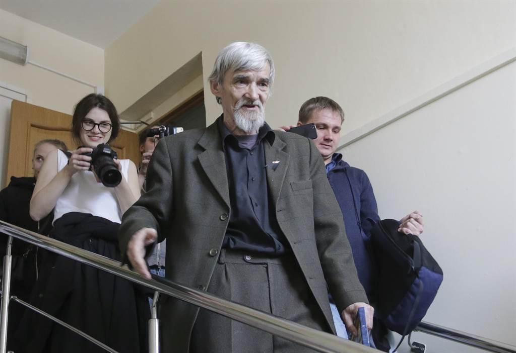 俄国历史学者尤里·德米特里耶夫。图/路透(photo:ChinaTimes)