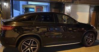 東港18輛賓士車窗遭隨機砸毀 警花4小時逮榔頭砸車男