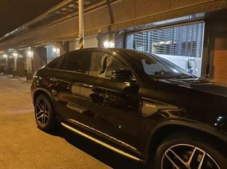 東港砸車怪客4小時被逮 險些遭群眾圍毆