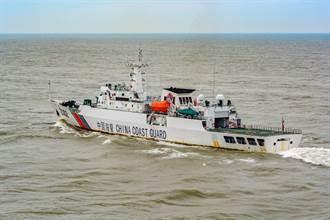 陸4海警船進入釣魚台海域 其中1艘疑配備武器