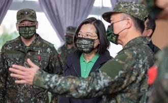 春節堅守崗位 蔡英文:期待重視國防、力挺國軍