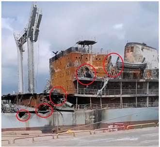 反制美軍威嚇  大陸導彈攻擊萬噸艦船畫面曝光