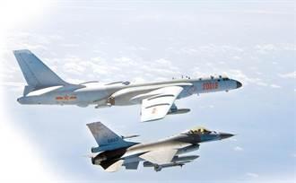 共機擾台「只敢躲總統府喊台灣價值」 空軍崩潰:這片天空不是拿來政治操作